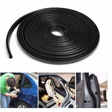"120"" 4 M All Weather Rubber Seal Strip Car Door Edge Guard Mold Trim Metel Clips"