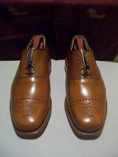 New 1st Quality Allen Edmonds Dryden 7 D brandy