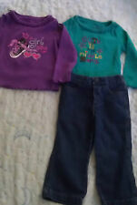 Okie Dokie  lo of 3 pieces of INFANT Girls clothes size 2 t