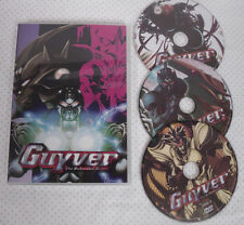 GUYVER The Bio-Boosted Armor Anime! 3 Disc 1-26 Animation & Anime 3 Disc