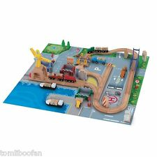 Early Learning Centre(ELC) Wooden Rail Cargo Port**NEW**