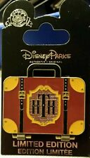 Disney DCA Hollywood Tower Terror Hotel Final Check-Out 2017 Suitcase AP  LE Pin