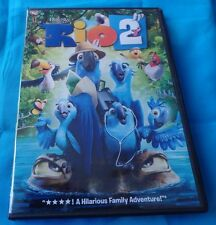 RIO 2, DVD-SINGLE DISC, GREEN DISC, RATED G, HATHAWAY & SALDANHA