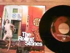 "THE ROLLING STONES 45 RPM ""Saint of Me"" ""Anyway You Look At It"" w/ pict sl  VG++"