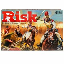 RISK Game of Strategic Conquest Hasbro Gaming Ages 10+ BRAND NEW- FREE SHIP