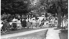 Littledean Guest House afternoon tea Cinderford Forest of Dean RP pc used 1932
