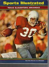 1970 Sports Illustrated Magazine Texas Arkansas College Football Woo Woo Worster