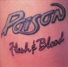 Poison - Flesh & Blood - Music CD - Lot 6