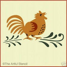 COUNTRY CHICKEN STENCIL -French - The Artful Stencil