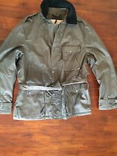 "BURBERRY BRIT   MEN'S ""TRENTON PEAT BROWN""  MILITARY FIELD  ( EXTRA LARGE) $ 995"