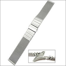 Vollmer Satin Finish Stainless Steel Mesh Watch Bracelet #0503SH7 (20mm)