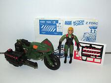 1983 GI JOE / ACTION FORCE Z-FORCE RAPID FIRE w/ QUARREL 100% COMPLETE PALITOY