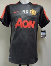 "Manchester United 2014/15 NERO Pre-Match Camicia ""elg"" by Nike Adulti Taglia Media"