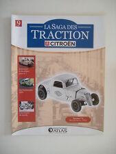 fascicule n°9 TRACTION 7 S records Yacco 1934  - LA SAGA DES TRACTION