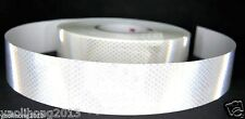 "Silver White Reflective Safety Warning Conspicuity Tape Film Sticker 2""X1m"