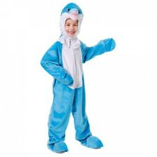 Plush Dolphin Fancy Dress Costume CHICOS CHILDS Animales Peces bajo el mar Outfit