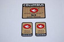 Columbus SLX black frame +2 fork decals for campagnolo equip bike