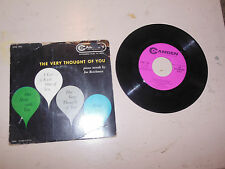 JOE REICHMAN the very thought of you/one hour with you/easy to love CAMDEN  45