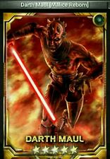 Star Wars Force Collection Darth Maul MR 5 star base Guide to Obtain