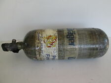 Drager 4500psi SCBA tank 45 minute carbon wrapped 2008 mfg date 4055698 Draeger