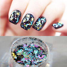 1Box Nail Art Glitter Powder Tips Shiny Shimmer Sequins Manicure Decoration 3ml