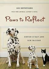 Paws to Reflect: 365 Daily Devotions for the Animal Lover's Soul by McLean, Kim