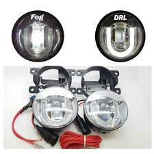 DRL LED 5000K Front Fog Lights Lamps 1 x Pair - Jaguar X Type (2001-2010)