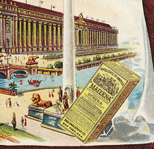 Textiles Palace St Louis Worlds Fair 1904 Exposition Maizena Corn Starch NY Card