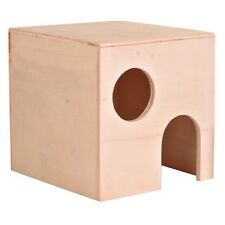 NEW Trixie Wooden Small House Gerbil - Dwarf / Small Hamster - Mice 60751