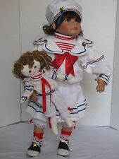 "Weldon Museum, Kathy Smith Fitzpatrick Patriotic ""Divi"" 24"" Doll"