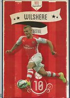 MOTD-POSTER 2014/15-ARSENAL & ENGLAND-JACK WILTSHIRE