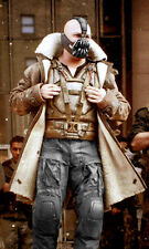 Tom Hardy Bane Dark Knight Rises Real Leather Trench Coat - Best Deal