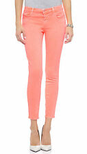 J BRAND 8312 CROPPED RAIL FLAMINGO JEANS W25 UK 6/8