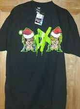 "WWE DX Generation ""Merry DX Mas"" T-Shirt Size Medium Men's Black * LAST ONE!!"