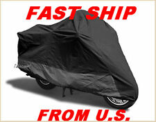 Motorcycle Cover Indian Chieftain all year all-black D2