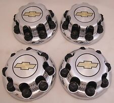 4 New Chevy Express Van 2500 3500 Chrome Factory OEM Center Hub Caps 9597163