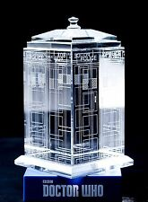 Officially Licensed Doctor Who Crystal TARDIS Blank