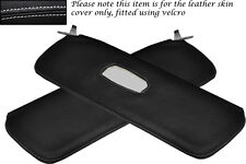 WHITE STITCH FITS ALFA ROMEO GIULIETTA 101 54-62 2X SUN VISORS LEATHER COVER