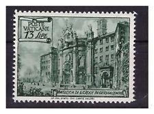 VATICANO - 1949  BASILICHE Lire 13 dent. 13 1/4    NUOVO  **