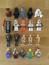 Star Wars Lego Lot of 20 Minifigures - Carbonite Hans Solo R2-D2 Ewok Troopers