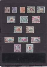 CYPRUS 1955 PICTORIAL SET SG.173-187 FINE USED