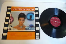 CINE-MUSIC LP MICHEL LEGRAND FRANCIS LAI SERGE GAINSBOURG PHOTO SOPHIA LOREN.