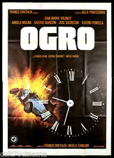OGRO MANIFESTO CINEMA PONTECORVO THRILLER 1979 CARRERO BLANCO MOVIE POSTER 4F
