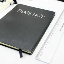 CUADERNO + PLUMA DEATH NOTE NOTEBOOK JAPANESE ANIME MANGA GEEK BRAND NEW!