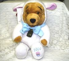 VINTAGE WINNIE THE POOH BEANIE IN EASTER LAMB COSTUME DATED 2000 W/ ORIGINAL TAG