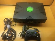 modded xbox original with 320gb hdd , coinops 8 massive , 6617 games , tested !