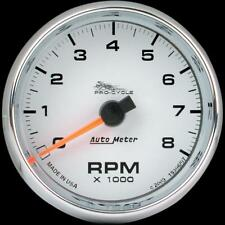 Auto Meter 2 5/8in. Electronic Tachometer  White Face 19307*