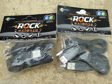 ROCKBAND CONTROLLER EXTENSION CABLES NEW! GUITAR DRUM LEADS Wii PS3 Xbox 360 USB