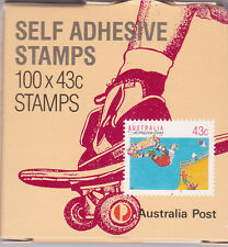 1990 Sports Series II Complete Box of 100 x 43c Stamps - 1 Kangaroo Reprint