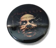 SLAYER PINHEAD FACE LOGO BLACK CIRCULAR PIN NEW NWT METAL BAND MUSIC